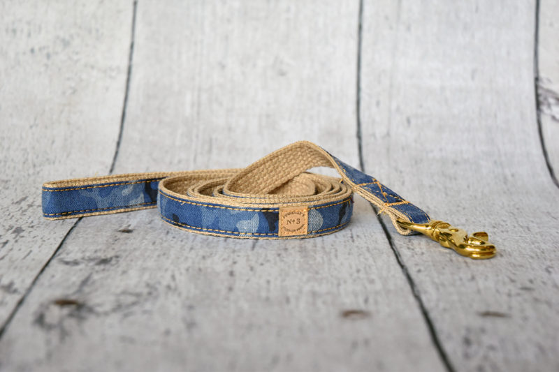 "1"" Denim Camo Lead"