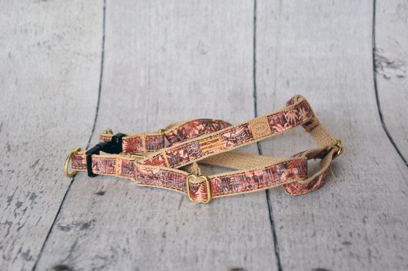 "3/4"" Vintage Polynesian Harness"